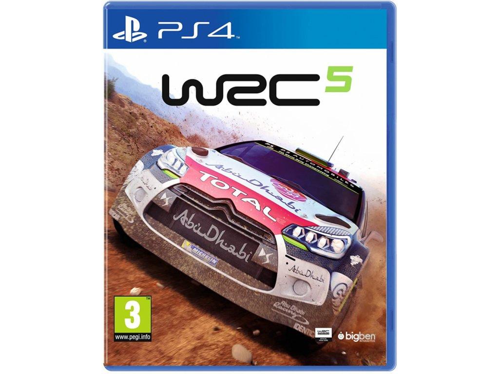 P4S WRC FIA WORLD RALLY CHAMPIONSHIP 5
