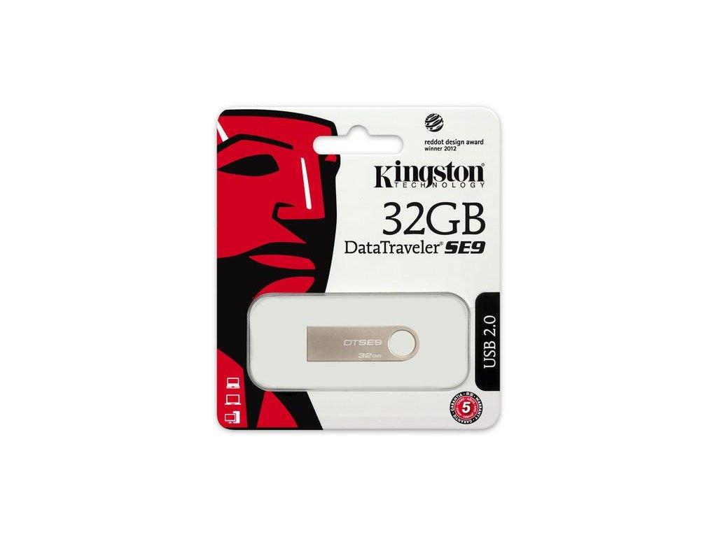 ACH USB 2.0 KINGSTON 32GB DATATRAVELER SE9