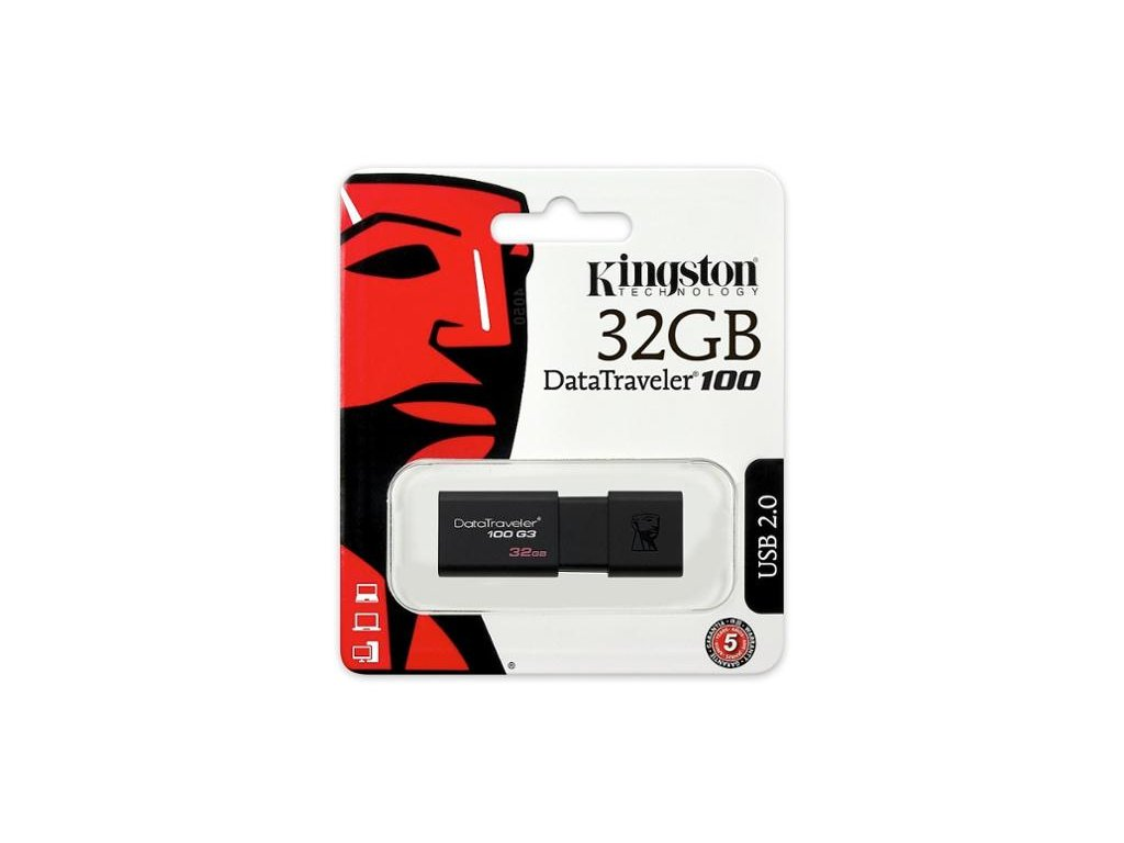 ACH USB 3.0 KINGSTON 32GB DATATRAVELER 100 G3