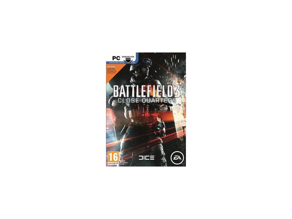 PC BATTLEFIELD 3 CLOSE QUARTERS (DLC KOD)
