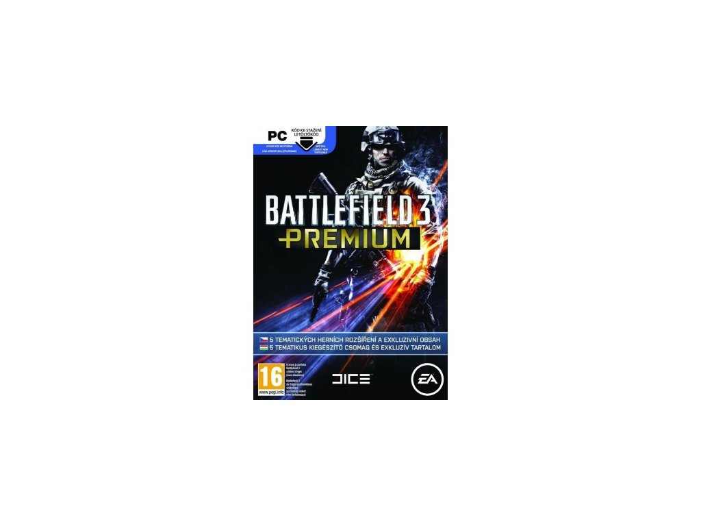 PC BATTLEFIELD 3 PREMIUM SERVICE PACK