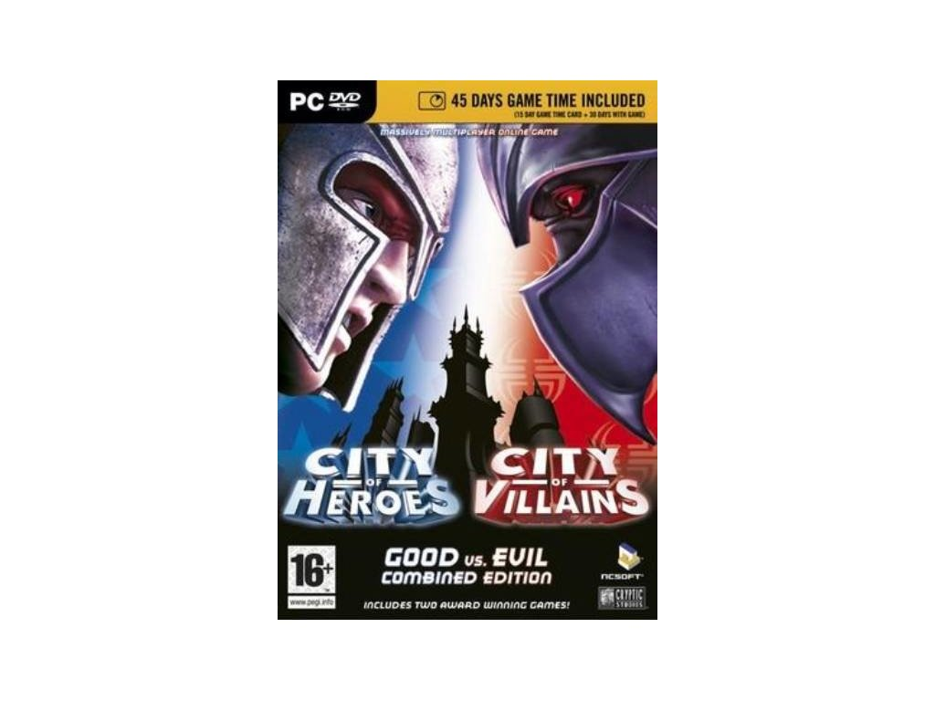 pc city of heroes city of villains good vs evil combined edition 00254f908046e373