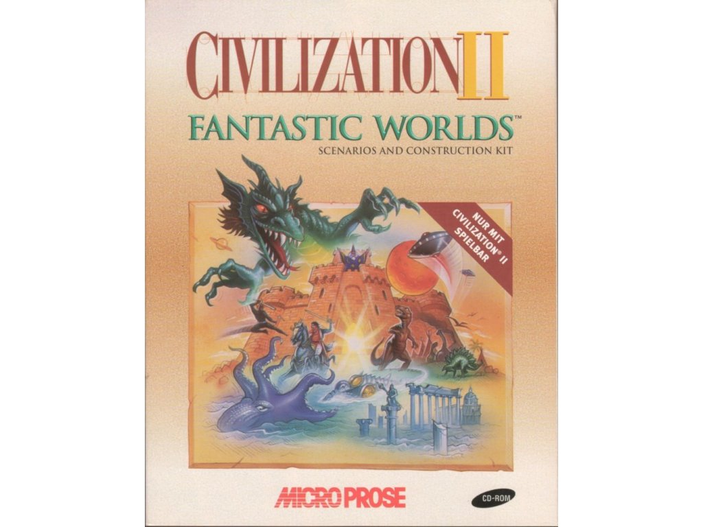 4215 civilization ii fantastic worlds windows 3 x front cover