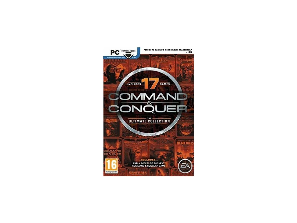 pc command conquer the ultimate collection cb5010ab834f6734