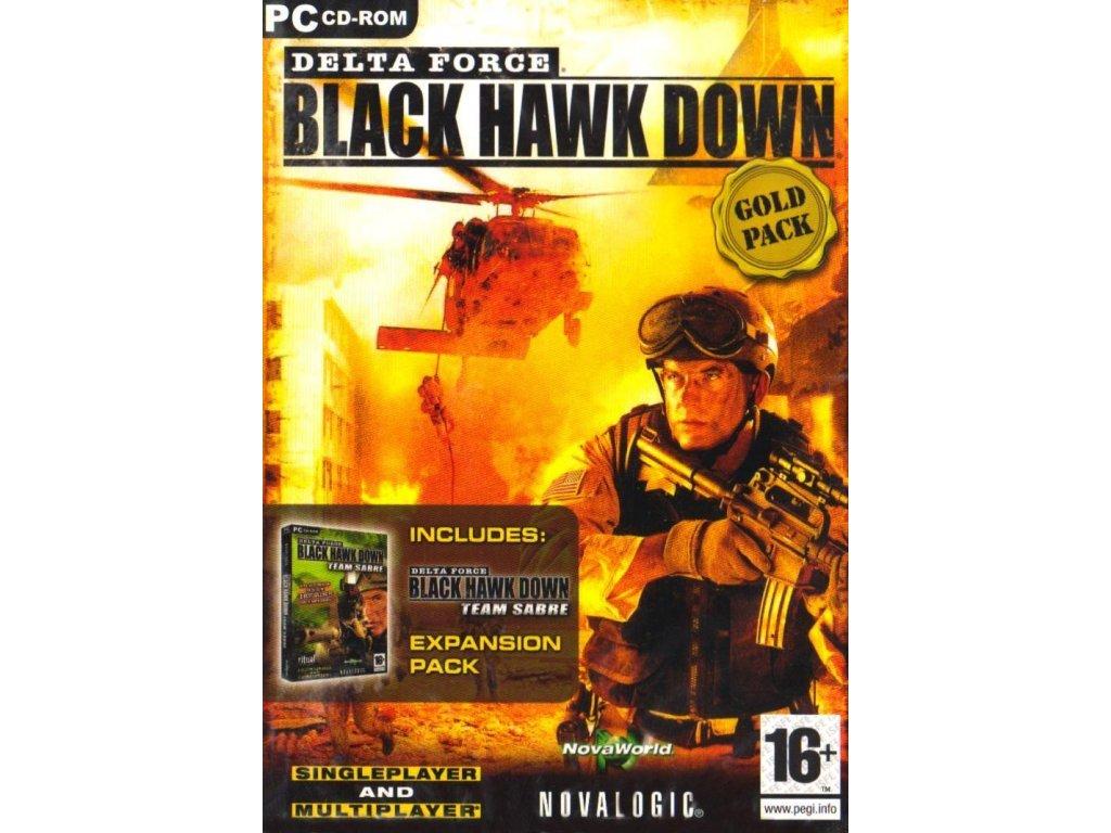 PC DELTA FORCE BLACK HAWK DOWN GOLD (BHD+TEAM SABRE)