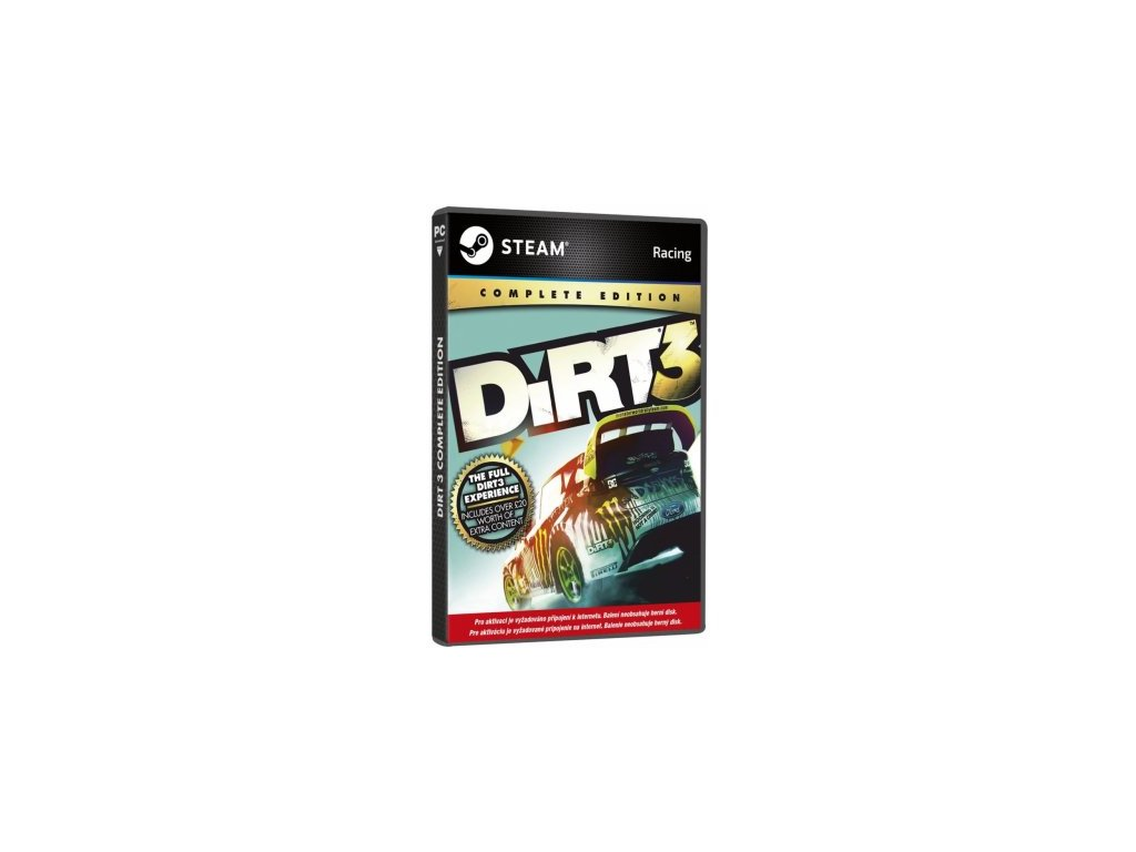 PC DIRT 3 COMPLETE EDITION (STEAM)
