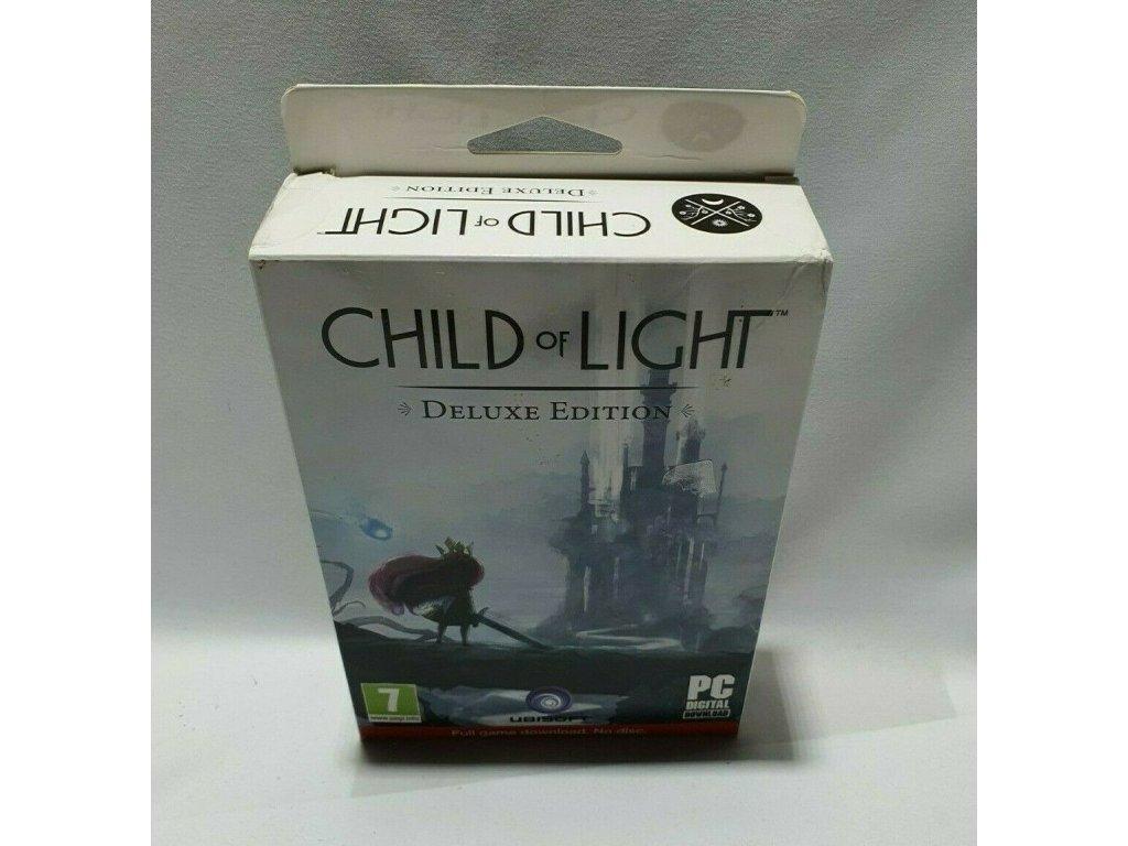PC CHILD OF LIGHT (DIGITAL KEYS + ARTBOOK + SOUNTRACK + ULC + KEY RING)