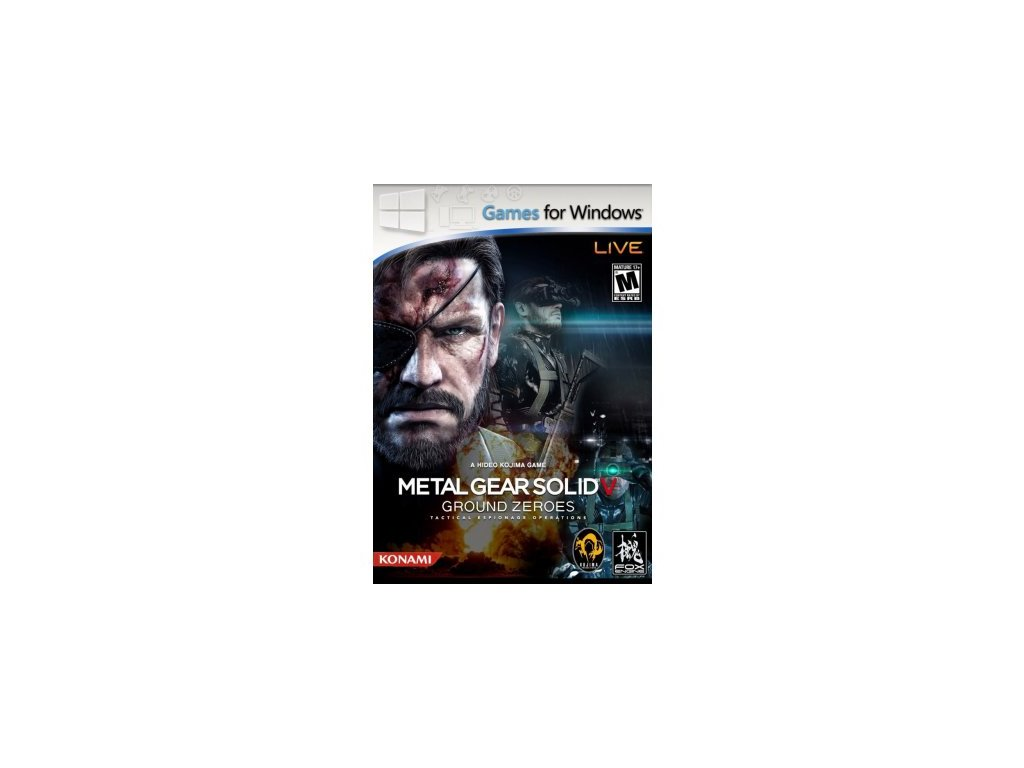 PC METAL GEAR SOLID V GROUND ZEROES