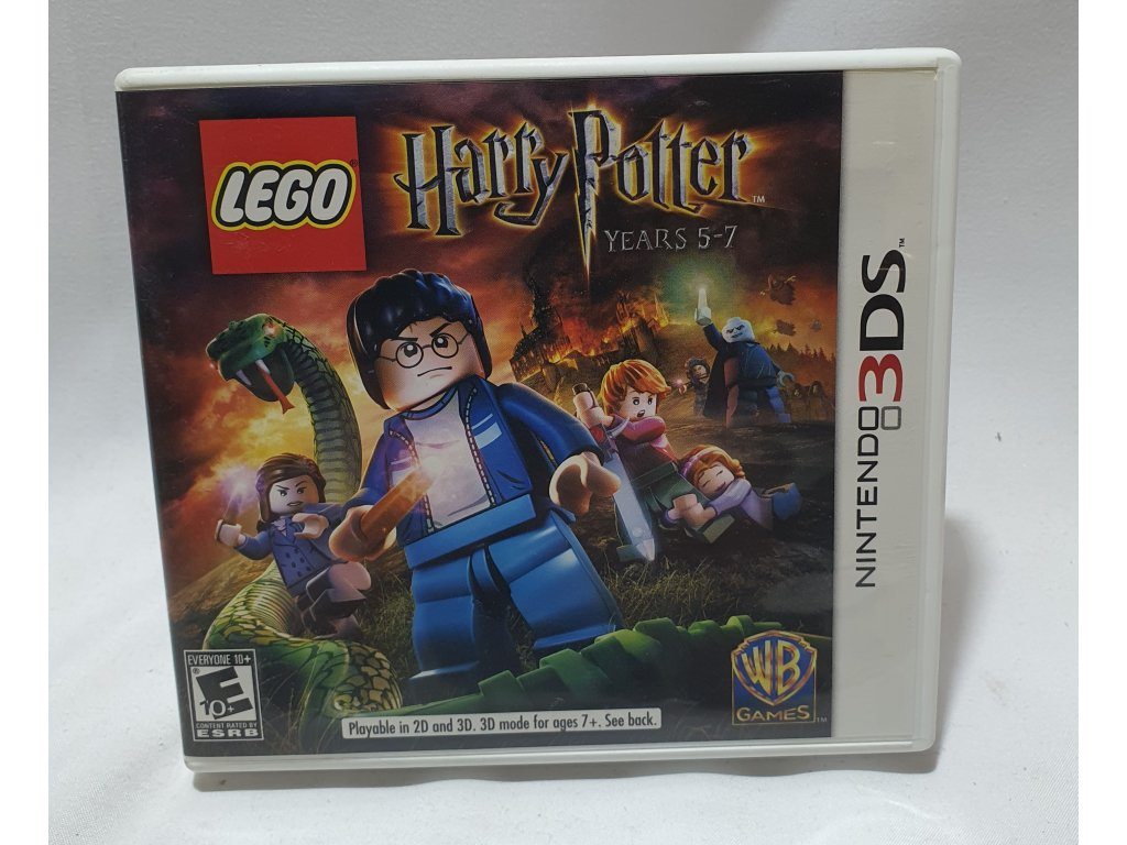 D3S LEGO HARRY POTTER YEARS 5 7