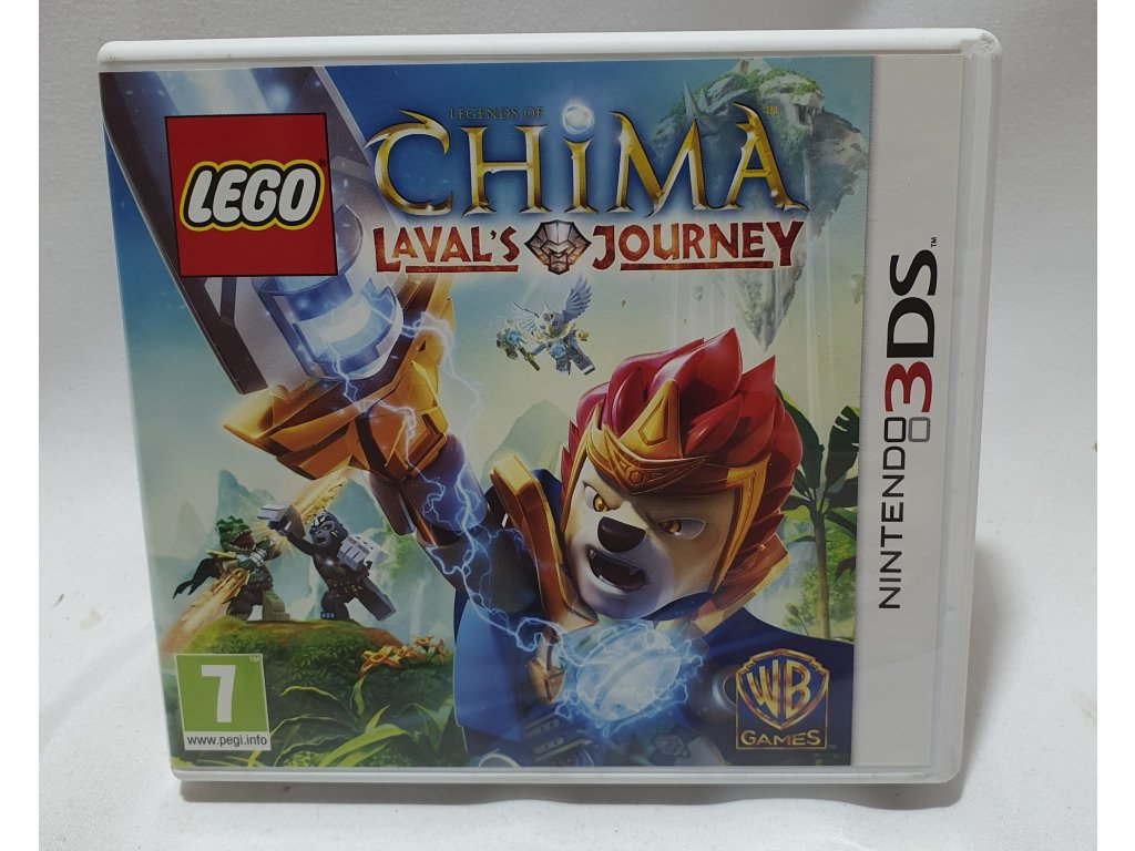 D3S LEGO LEGENDS OF CHIMA LAVAL'S JOURNEY