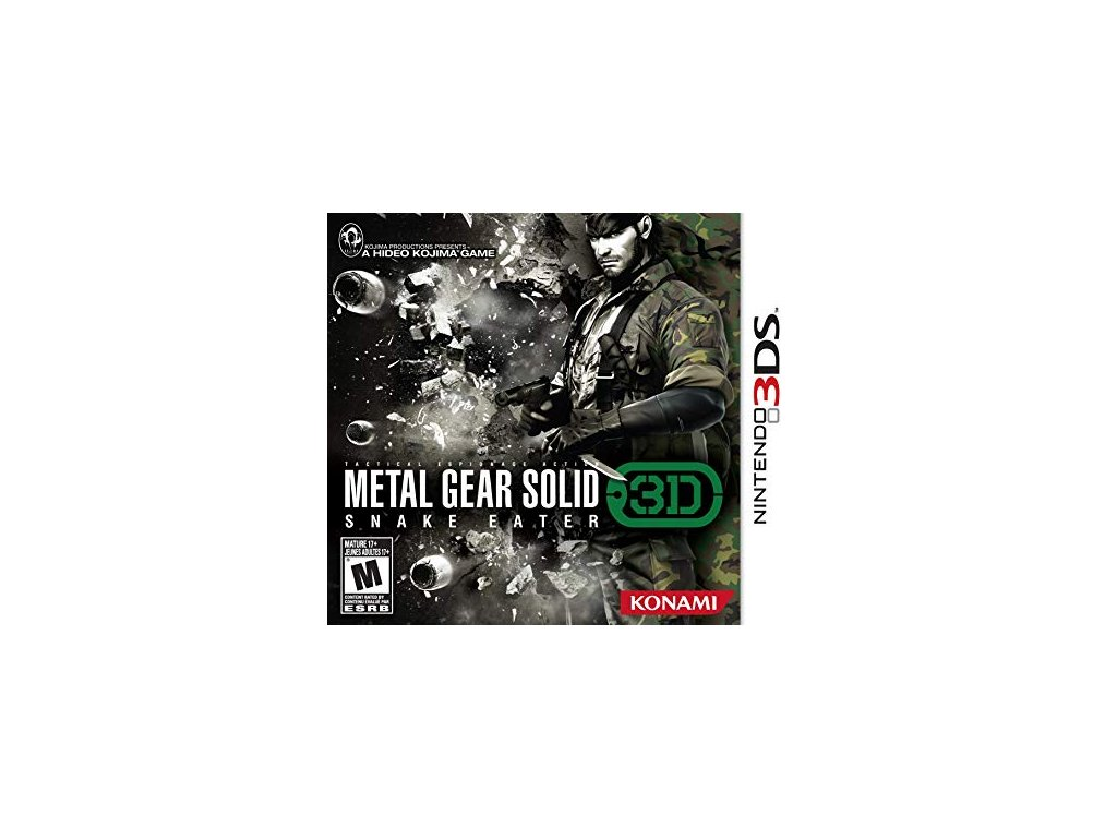 D3S METAL GEAR SOLID SNAKE EATER 3DS