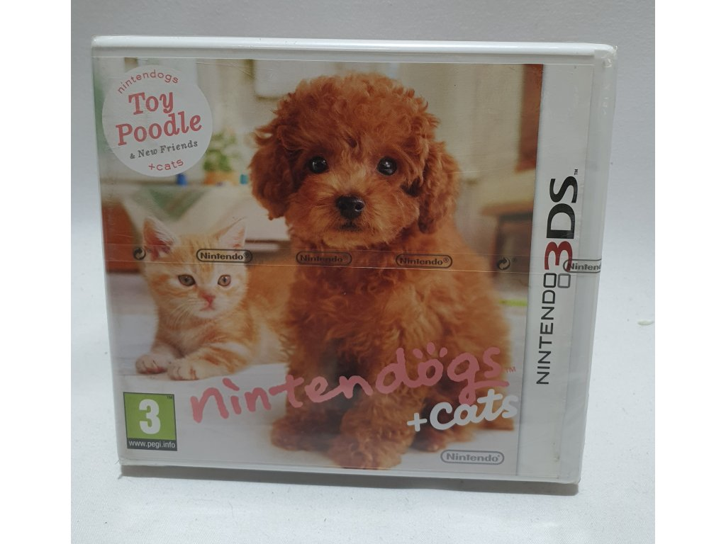 D3S NINTENDO DOGS TOY PUDDLE + CATS