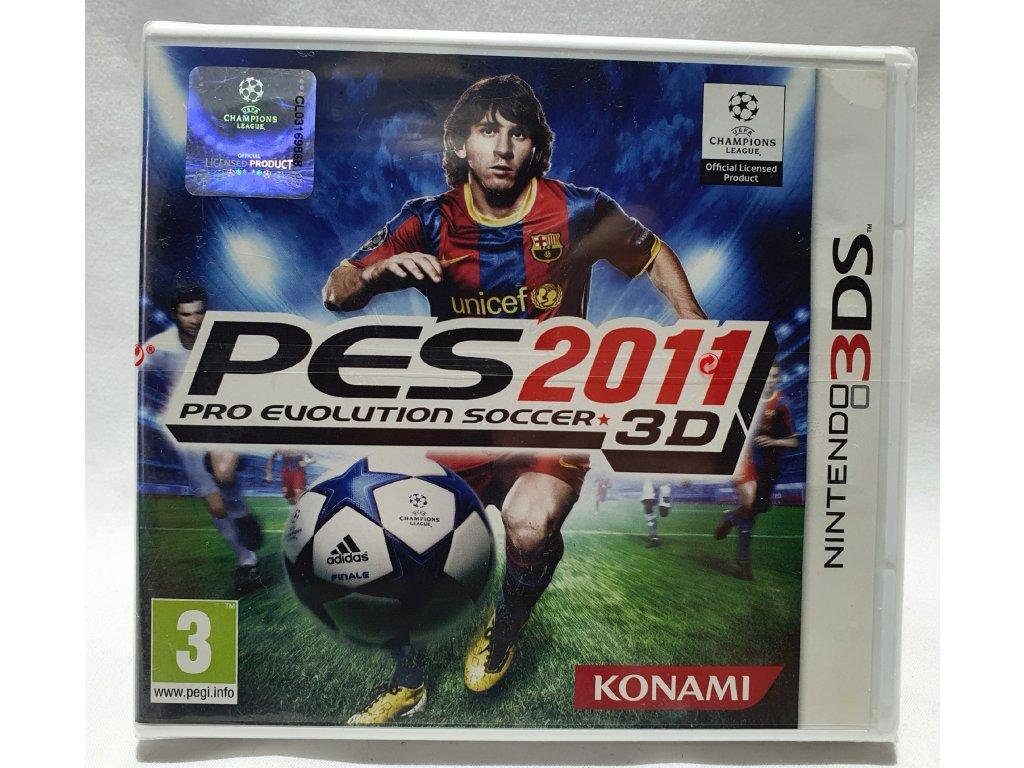 D3S PRO EVOLUTION SOCCER 2011 3DS