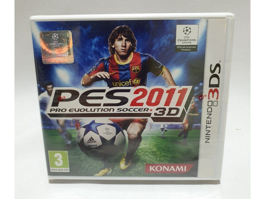 D3S PRO EVOLUTION SOCCER 2011 3DS