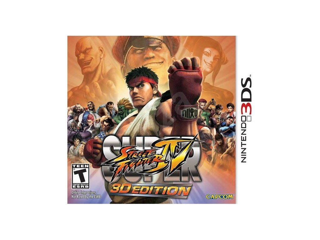 D3S SUPER STREET FIGHTER IV