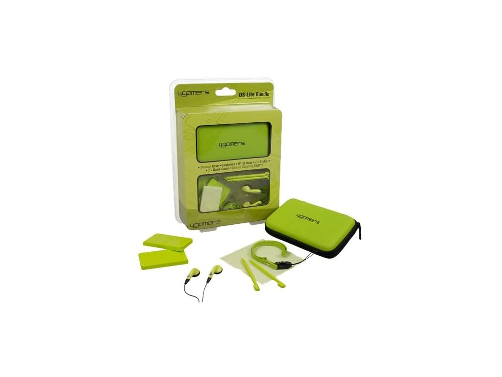 DSH ACCESSORY BUNDLE FOR DS LITE DSI GREEN