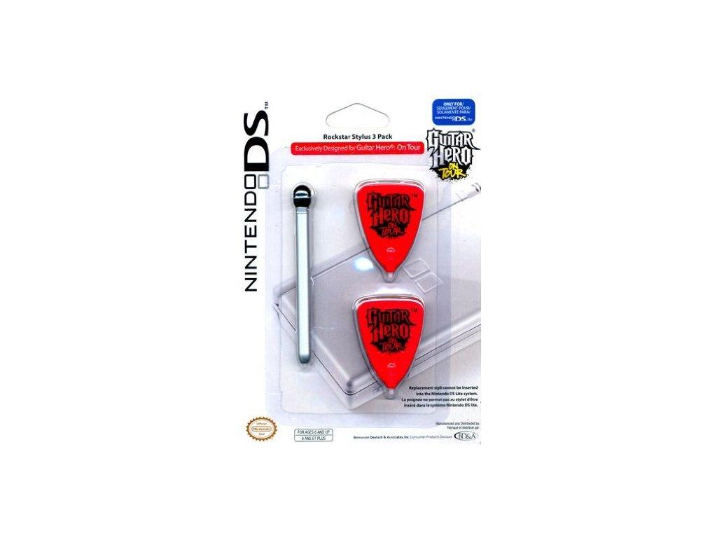 DSH STYLUS PACK GUITAR HERO DS LITE