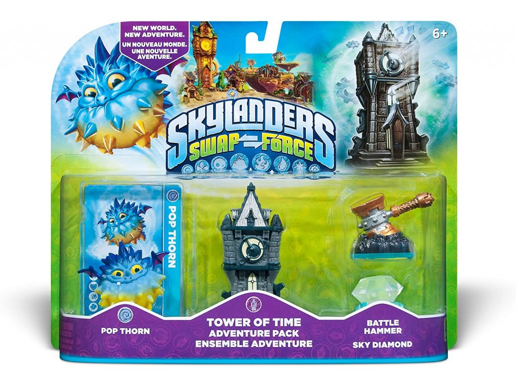 AC SKYLANDERS 3 SWAP FORCE ADVENTURE PACK 1 TOWER OF TIME
