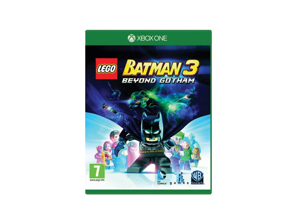 lego batman 3 beyond gotham xbox onedvd cover