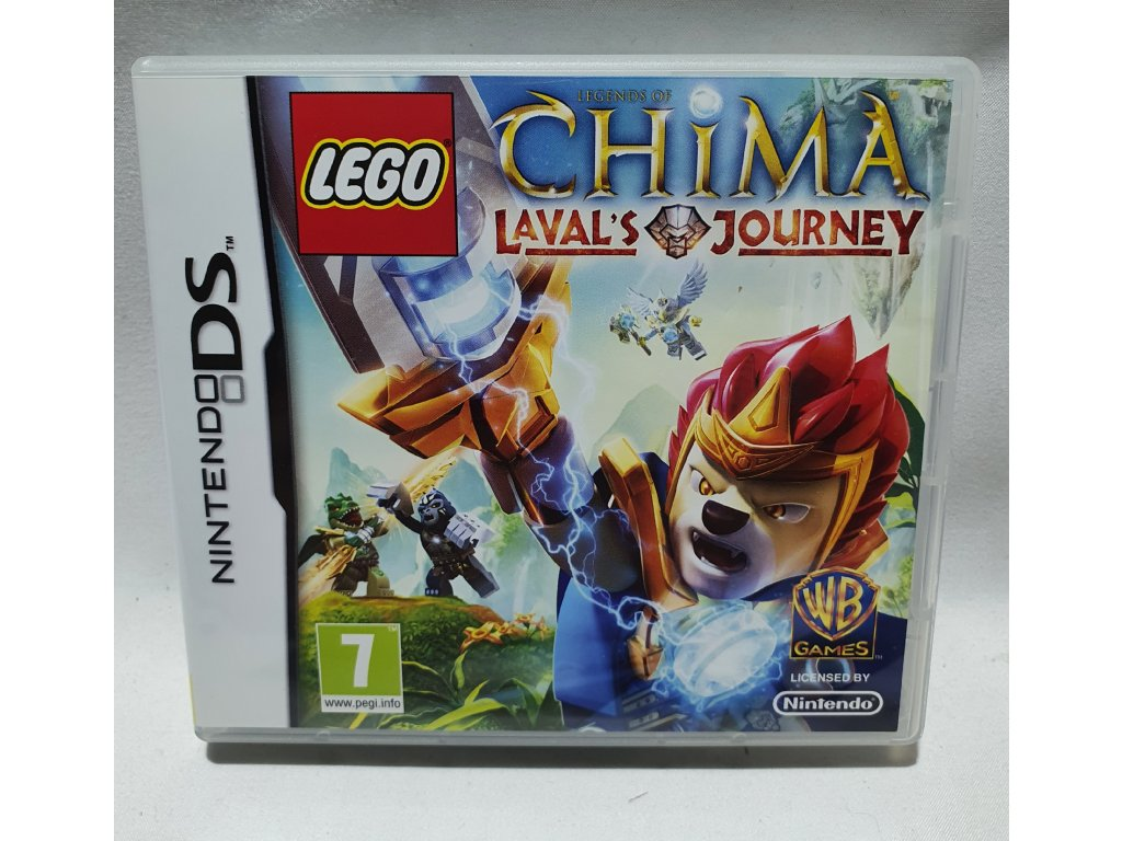 DSS LEGO LEGENDS OF CHIMA LAVAL'S JOURNEY