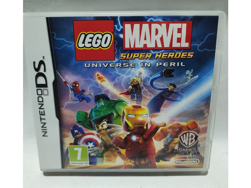DSS LEGO MARVEL SUPER HEROES UNIVERSE IN PERIL