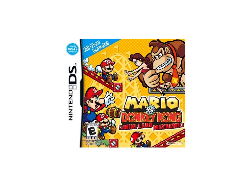 DSS MARIO VS DONKEY KONG MINI LAND MAYHEM