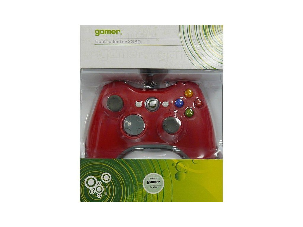 X3H X360 CONTROLLER WIRED RED (GAMER)