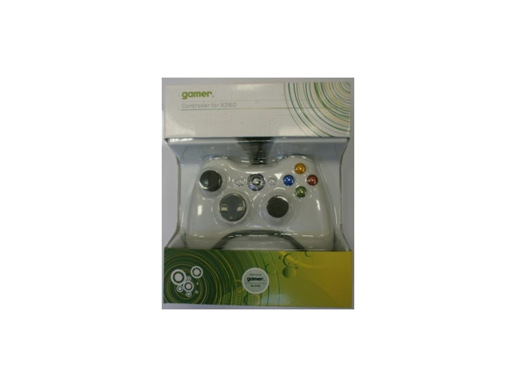 X3H X360 CONTROLLER WIRED WHITE (GAMER)