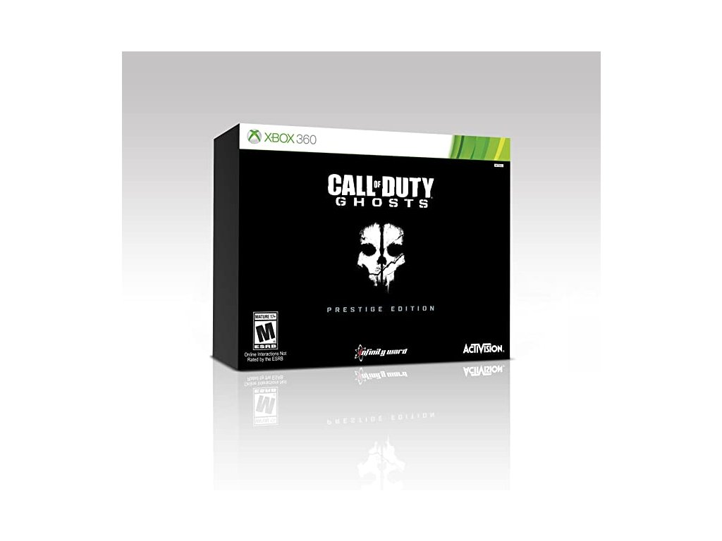 X3S CALL OF DUTY GHOSTS PRESTIGE EDITION