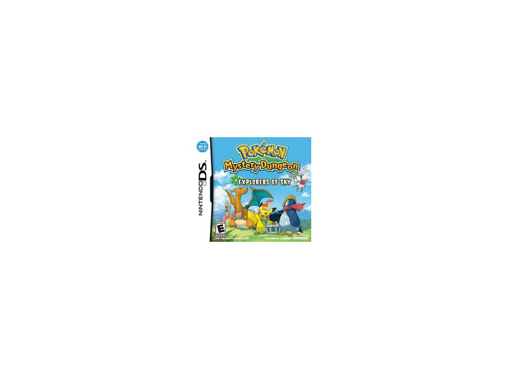DSS POKEMON MYSTERY DUNGEON EXPLORERS OF SKY