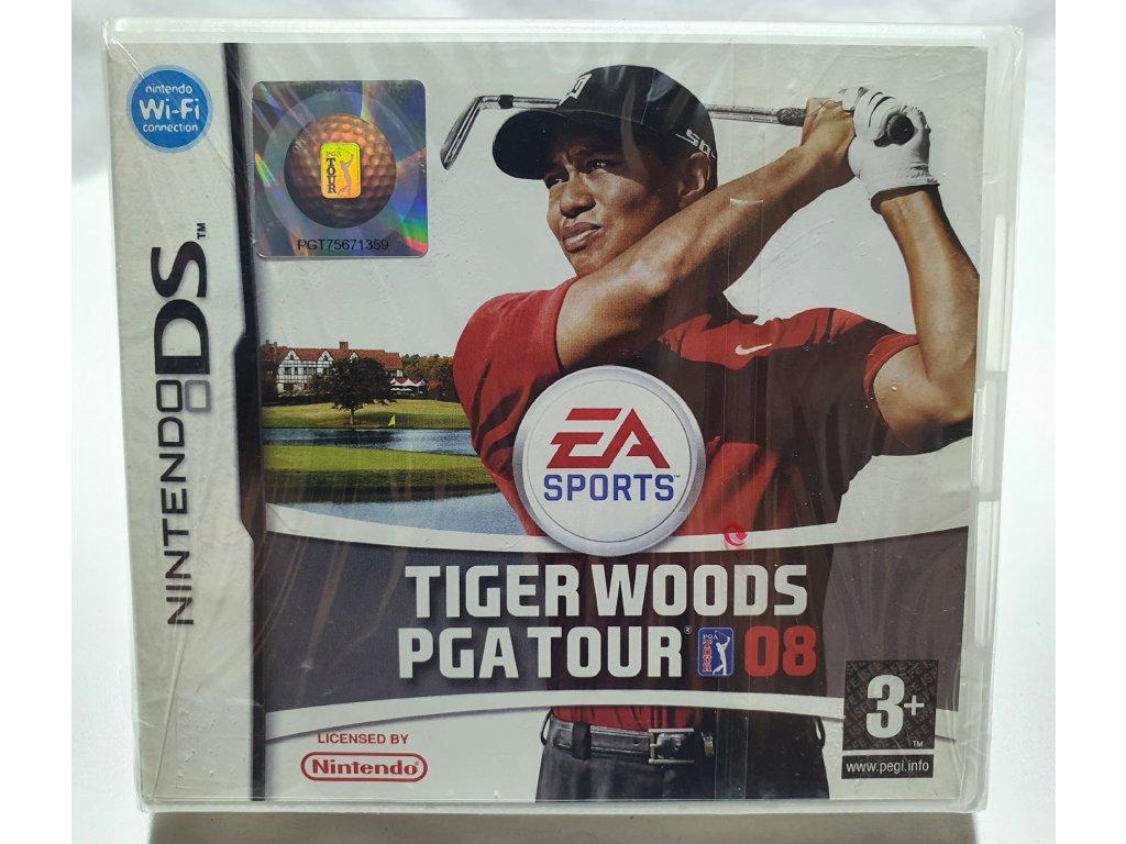 DSS TIGER WOODS PGA TOUR 08