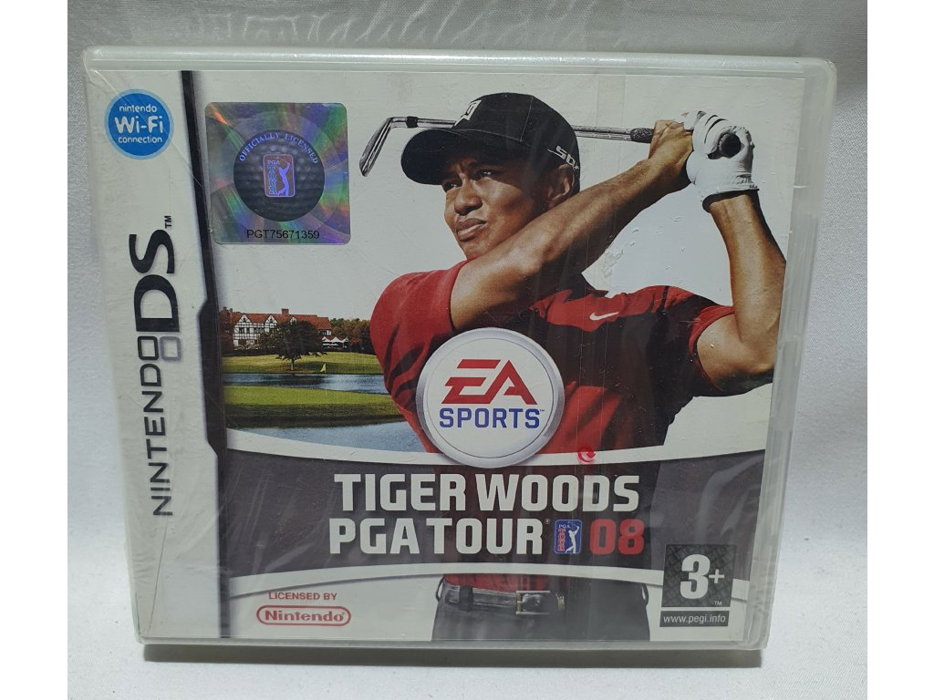 DSS TIGER WOODS PGA TOUR 08
