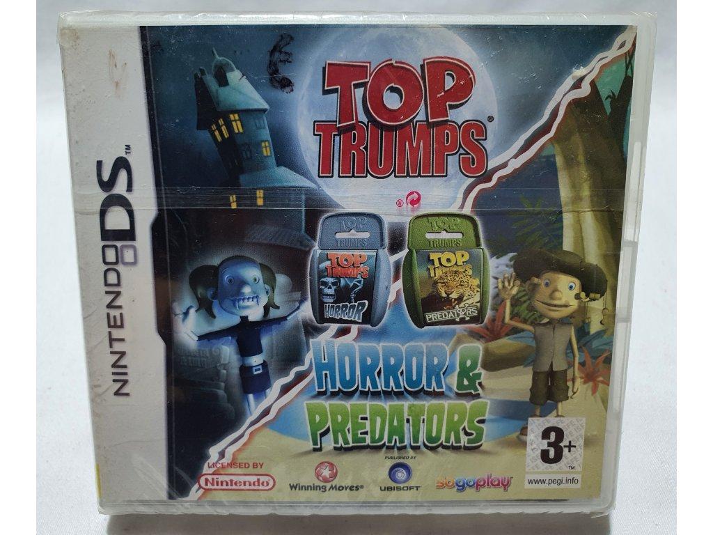 DSS TOP TRUMPS VOL.1 HORROR & PREDATORS