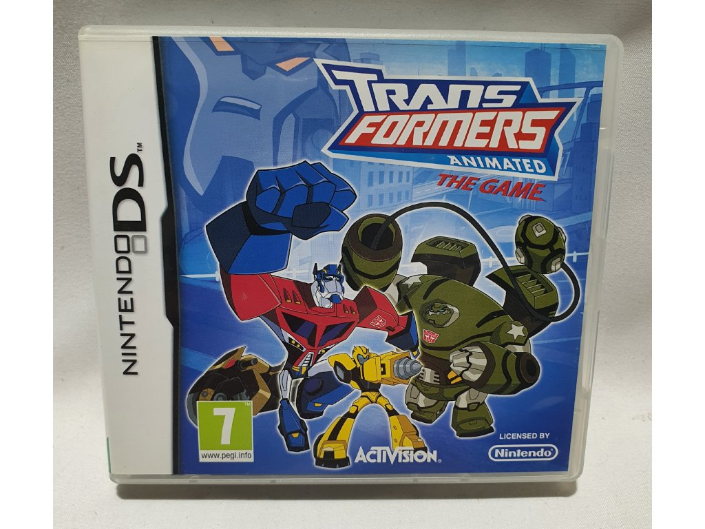 DSS TRANSFORMERS ANIMATED THE GAME