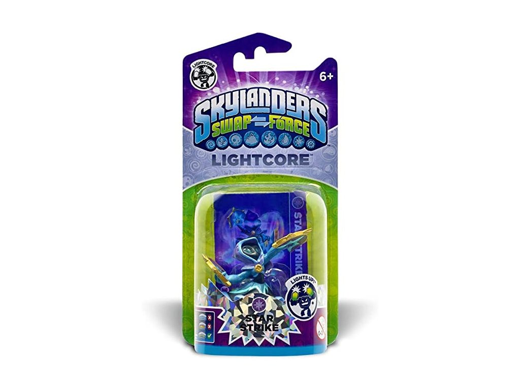 AC SKYLANDERS 3 SWAP FORCE LIGHT CORE STAR STRIKE