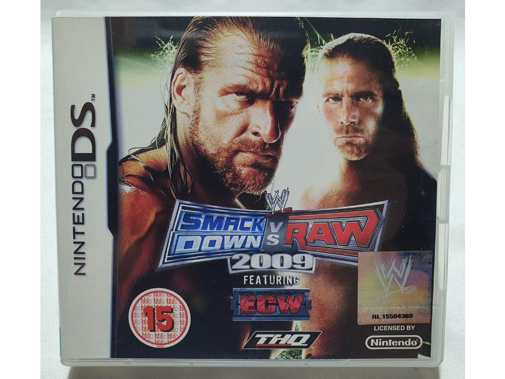 DSS WWE SMACKDOWN VS RAW 2009
