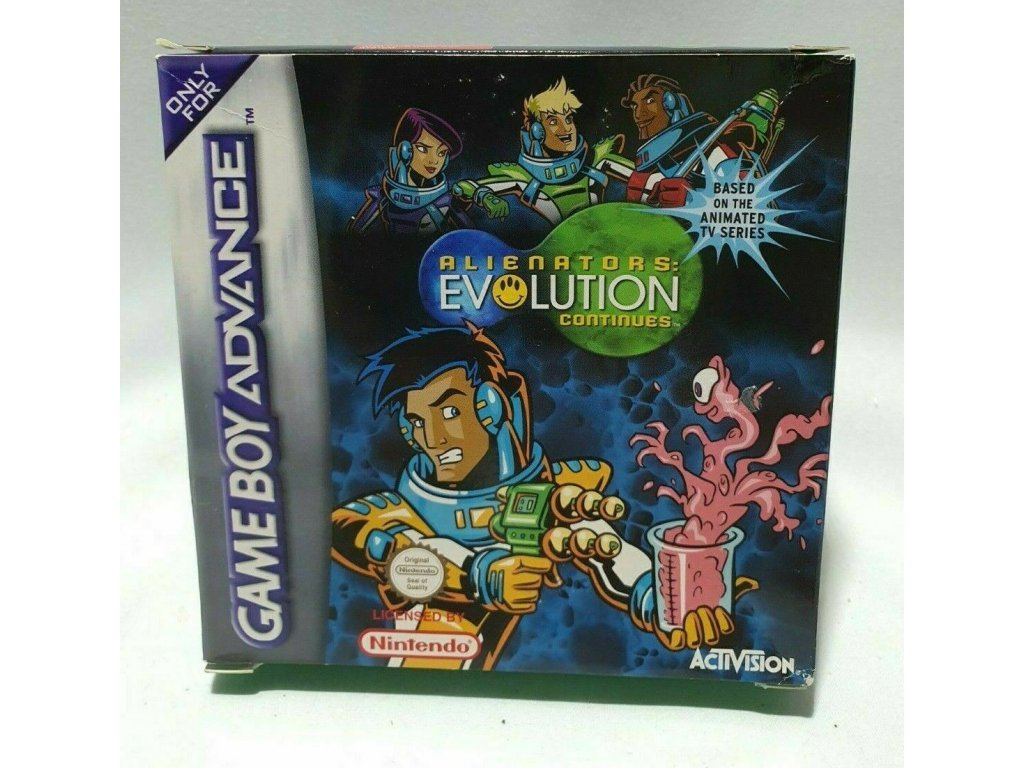 GAS ALIENATORS EVOLUTION