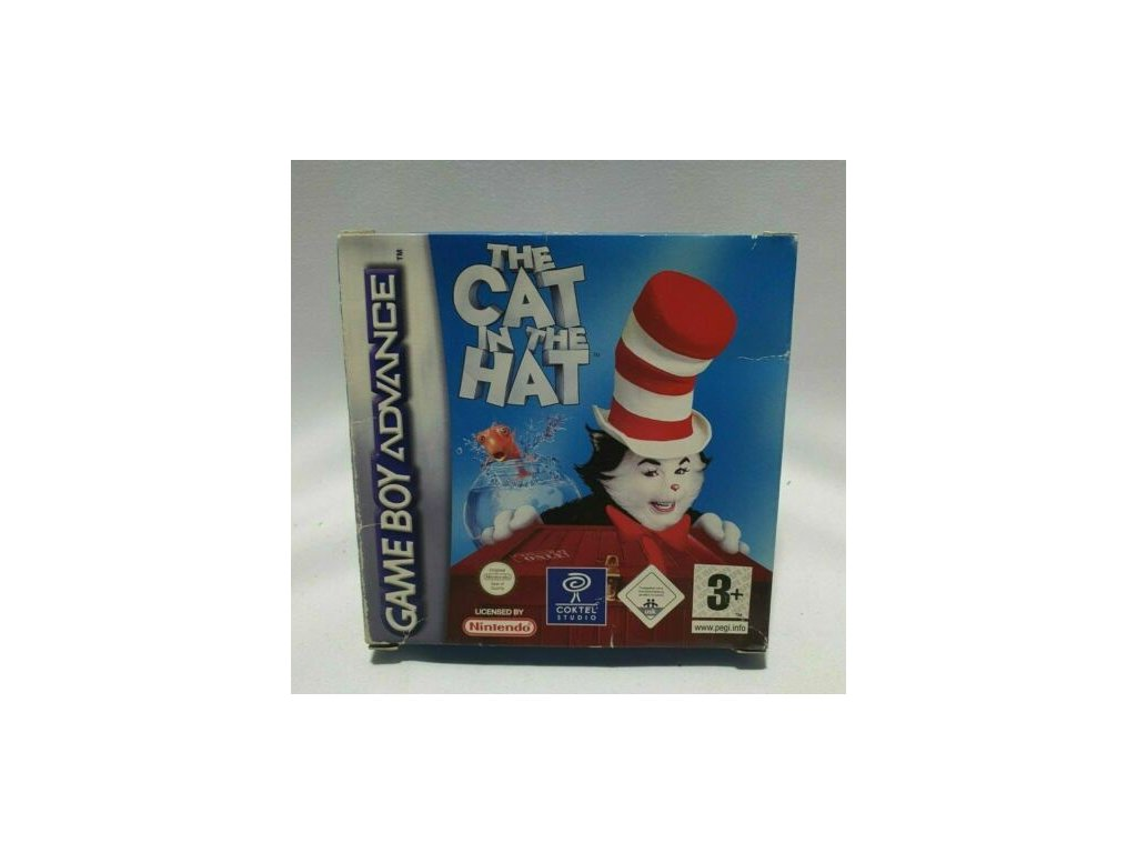 GAS CAT IN THE HAT