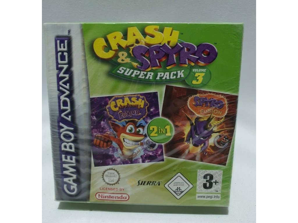 GAS CRASH & SPYRO SUPER PACK V.3