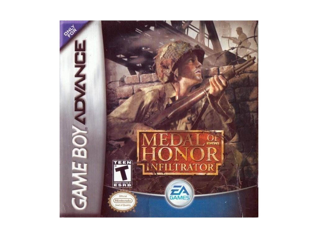 GAS MEDAL OF HONOR INFILTRATOR