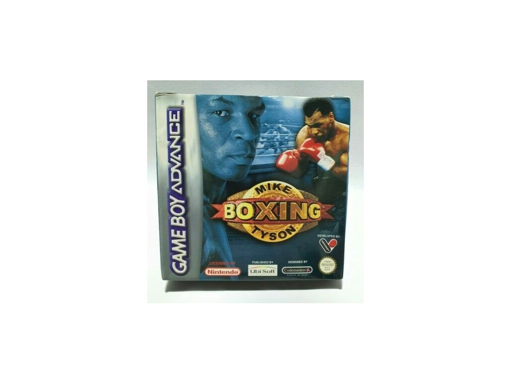 GAS MIKE TYSON BOXING