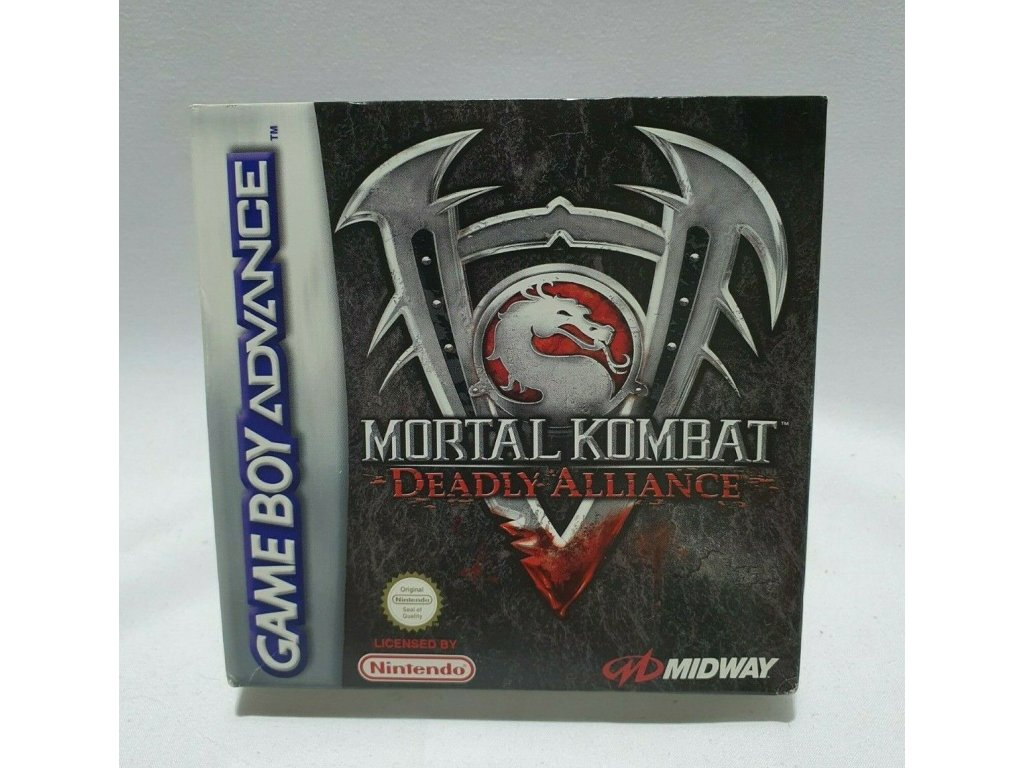 GAS MORTAL KOMBAT DEADLY ALLIANCE