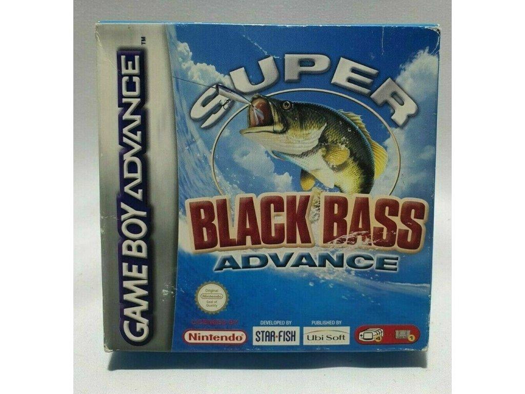 GAS SUPER BLACK BASS ADVANCE