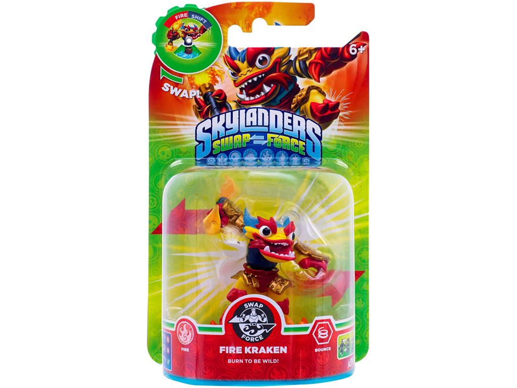 AC SKYLANDERS 3 SWAP FORCE SF FIRE KRAKEN