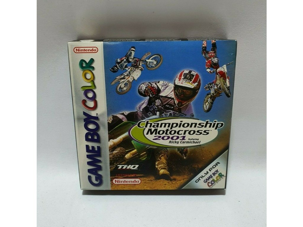 GCS CHAMPIONSHIP MOTOCROSS 2001