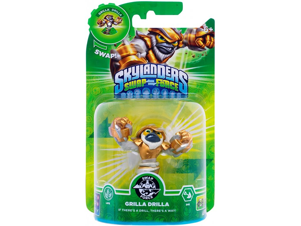 AC SKYLANDERS 3 SWAP FORCE SF GRILLA DRILLA