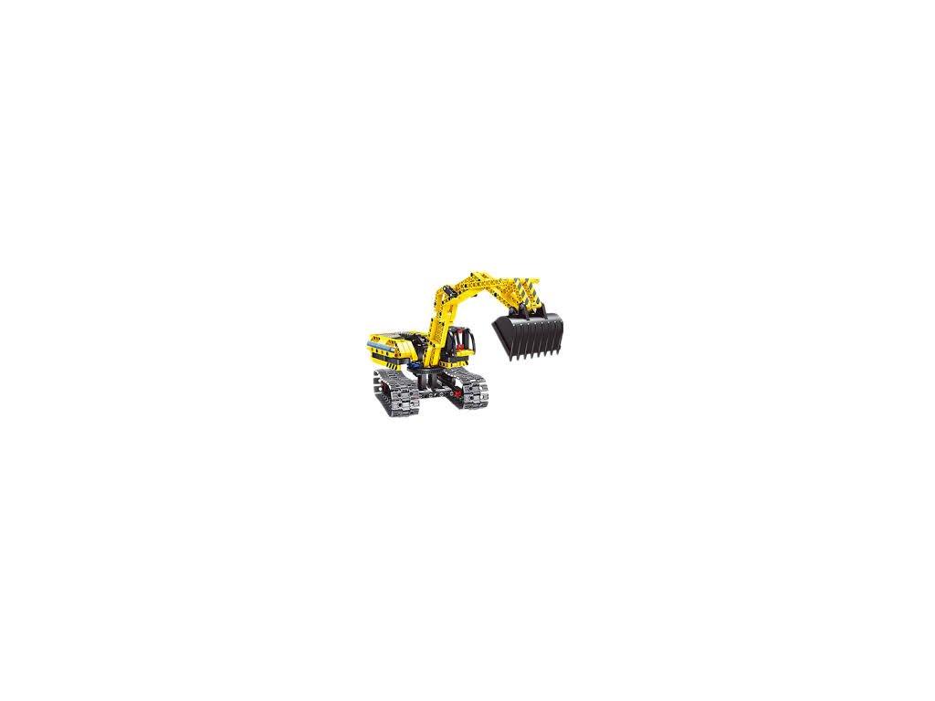 HTB EXCAVATOR & ROBOT (BRICKS QIHUI 6801)