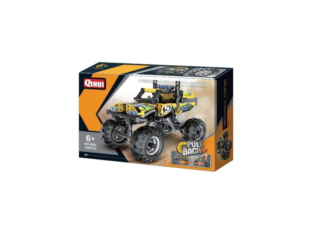 HTB OFF ROAD VEHICLE (PULL BACK) (BRICKS QIHUI 5804)