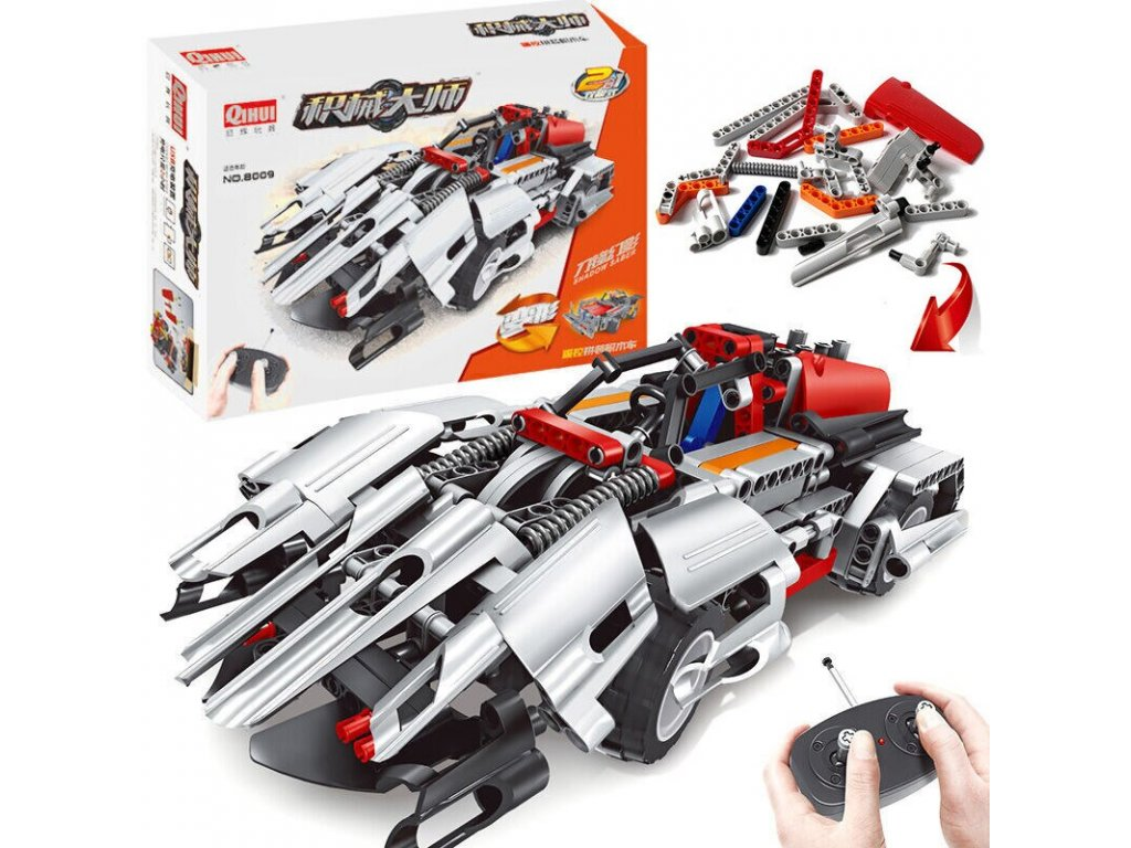 HTB SPORTS CARS 2IN1 (RC) (BRICKS QIHUI 8009)