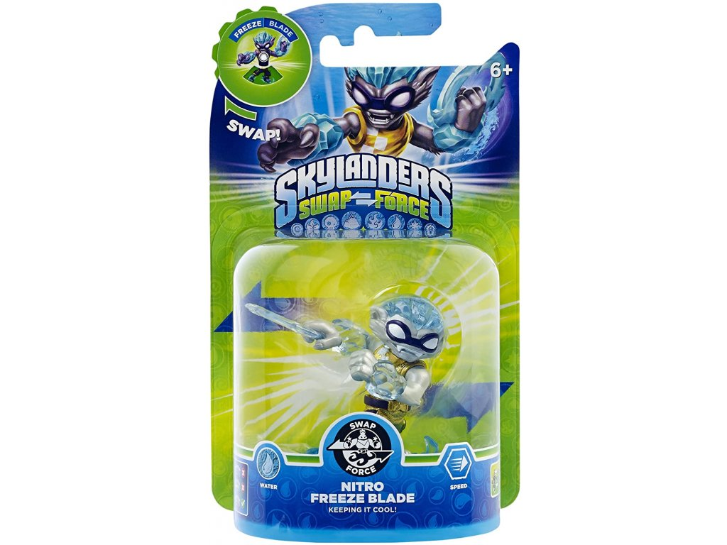 AC SKYLANDERS 3 SWAP FORCE SF NITRO FREEZE BLADE